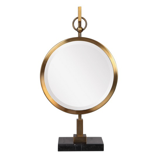 Uttermost Nori Bronze Tabletop Mirror