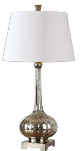 Uttermost Oristano Mercury Glass Lamp