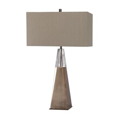 Uttermost Priam Plated Brass Table Lamp