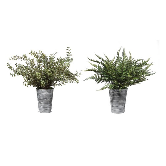 Uttermost Quimby Potted Ferns Set/2