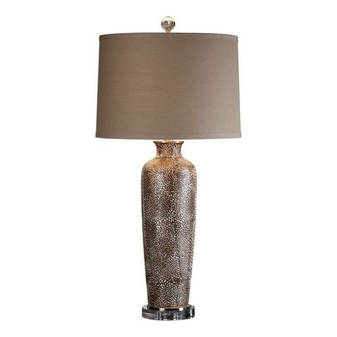 Uttermost Reptila Textured Ceramic Lamp