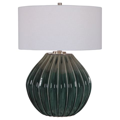 Uttermost Rhonwen Green Table Lamp