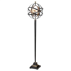 Uttermost Rondure Sphere Floor Lamp
