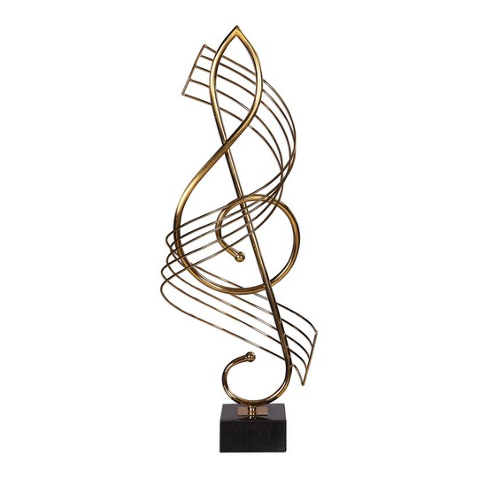 Uttermost Score Brass Musical Sculpture