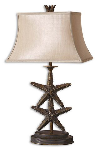 Uttermost Starfish Gold Table Lamp