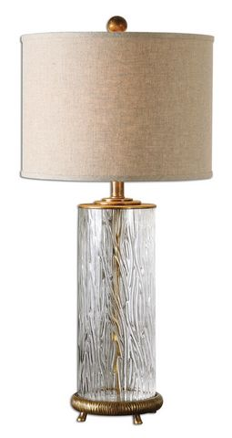 Uttermost Tomi Glass Table Lamp