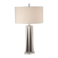 Uttermost Trinculo Brushed Nickel Lamp