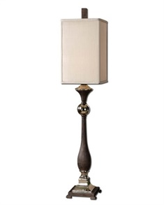 Uttermost Valstrona Black Buffet Lamp