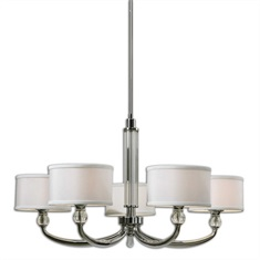 Vanalen 5 Light Chrome Chandelier