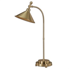 Viarigi Coffee Bronze Desk Lamp