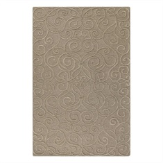 Vienna Dark Taupe Hand Tufted Rug Swatch