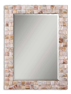 Vivian Mother Of Pearl Mirror