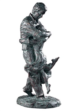 Welcome Home Oil Rubbed Bronze Figurine