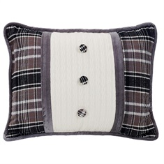 Whistler Buttoned Pillow
