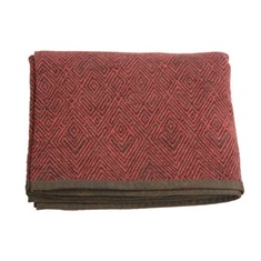 Wilderness Ridge Red Chenille Throw