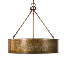 Wolcott 5 Light Golden Pendant
