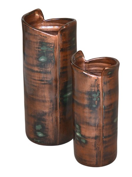 Wrapped Vases Set of 2
